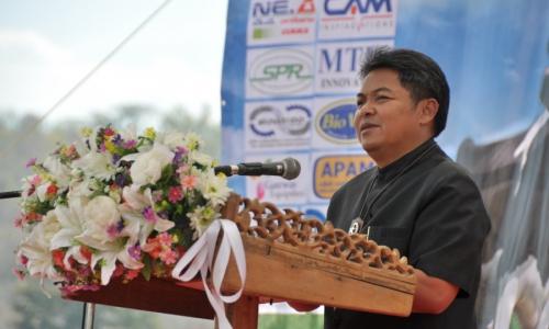 """(ตัวอย่าง) อธิบดีกรมปศุสัตว์ เป็นประธานการปาฐกถาพิเศษเรื่อง """"ประกาศนโยบายเกษตรแปลงใหญ่อาชีพโคนมไทยมั่นคงยั่งยืน"""""""